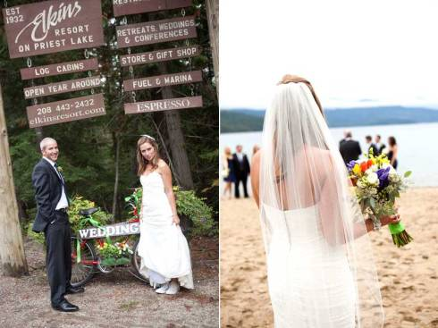Ifong Chen Photography, Elkins Lodge, Priest Lake Wedding Venues